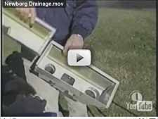 water drainage video Newborg